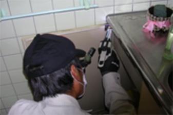 公共の施設 ベイト処理施工